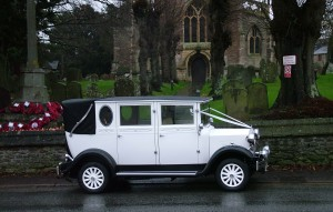 wedding car highworth