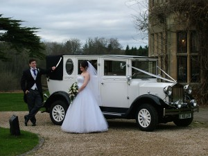 wedding car stanton house