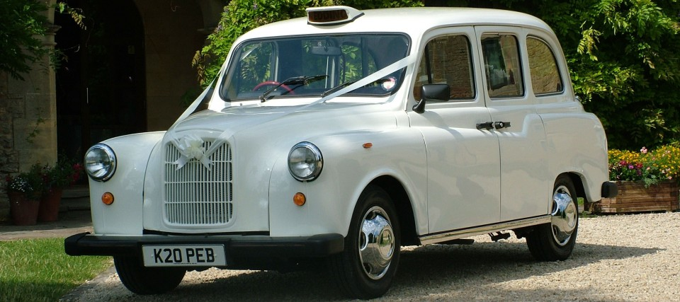 Fairway wedding car