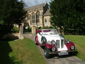 beauford at chedworth church