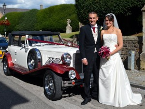 wedding car calne
