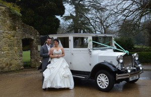 Natalie & Ryan with the Imperial Landaulet