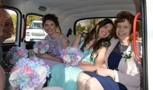 Mum and Bridesmaids