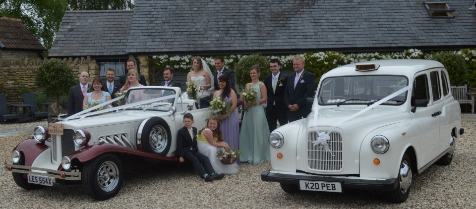 Beauford and Fairway wedding cars