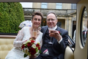 Cowley Manor wedding for Lisa and Adrian