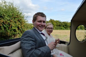 Chiseldon Church wedding for Jodie and Bradley