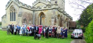 Bradford on Avon wedding for Sue and Fred