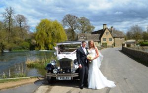 Fairford wedding for Emily and Karl