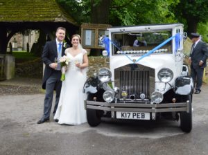 Blunsdon wedding for Jennie and Philip