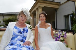 Kate and her Mother at Bowood House Hotel