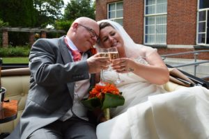 Swindon Register Office wedding for Joanne and Brian