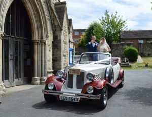 Christ Church wedding for Carly & Tony