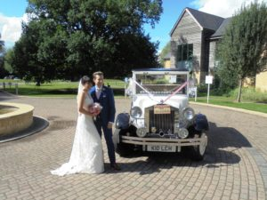 Cotswold Water Park Hotel wedding reception