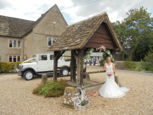 Spittleborough Farmhouse wedding reception for Kirsty & Andrew