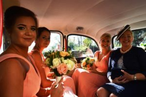 Beth's Mother & bridesmaids