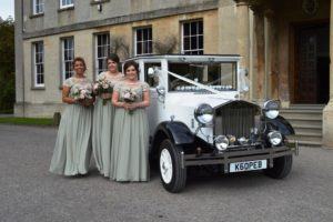 Elmore Court bridesmaids