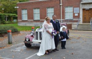 Swindon Register Office wedding for Vanessa and Carl