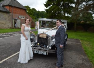Wroughton wedding reception for Sian & Alex