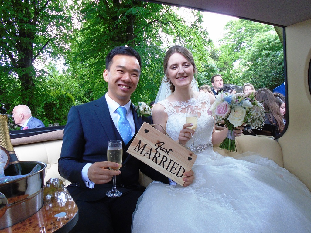 St Margarets Church Swindon wedding for Kirsty and Yue-Sing (27/05 ...
